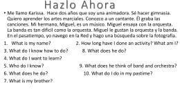Hazlo Ahora - SpanishLanguageLearners