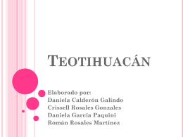 Teotihuacán - HISTORIAMEXSEC