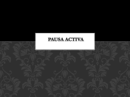 PAUSA ACTIVA - investigadorespp