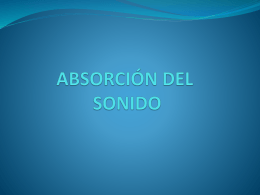 tipos de materiales de absorcion
