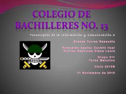 Colegio de Bachilleres No. 13