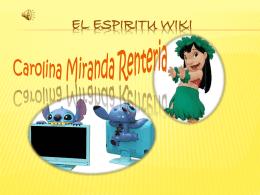 EL ESPIRITU WIKI