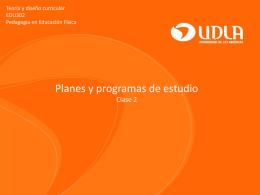 Clase 2 Planes y programas EDF.