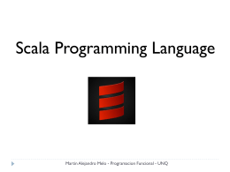 Scala Language