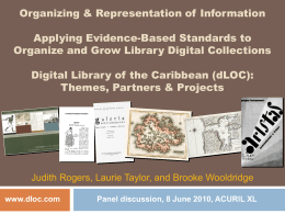 Digital Library of the Caribbean (dLOC) & Caribbean Newspaper