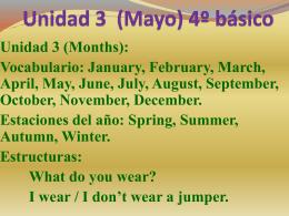Presentación N° 3 (Mayo)