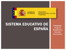Sistema Educativo Español