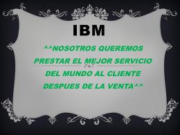 IBM (2030100) - asesoriasgestionplus