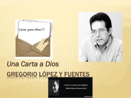Gregorio López y Fuentes