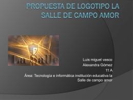 Propuesta de logotipo la Salle de campo amor (202
