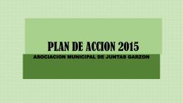 PLAN DE ACCION 2015 - Inicio - ASOCIACION MUNICIPAL DE