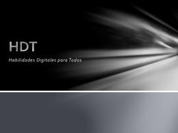 HDT - Habilidades Digitales para Todos