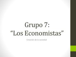 Grupo 7: *Los Economistas*