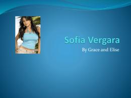 Sofia Vergara es creativa.