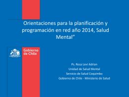5. SM - Servicio de Salud Coquimbo