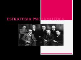 ESTRATEGIA PSICOANALITICA