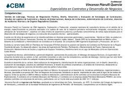 CV Vincenzo Piarulli