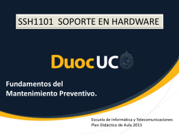 Fundamentos del mantenimiento preventivo
