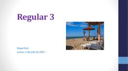 Revisión Tarea 3. - Curso de Español Nivel 3