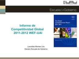 Presentación Leonidas Montes, Decano Escuela de