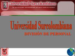 Diapositiva 1 - Facultad de Ingeniería