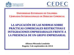 Prácticas Comerciales Restrictivas - Centro de Estudios de Derecho