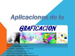 Aplicaciones de la graficación