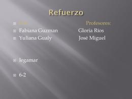 yuliana y fabiana refuerzo 6-2