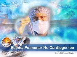 Edema Pulmonar No Cardiogénico