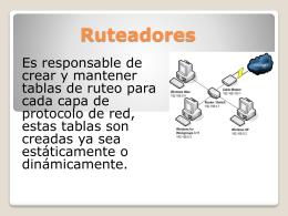Ruteadores