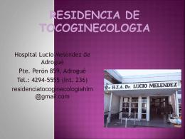 Tocoginecologia