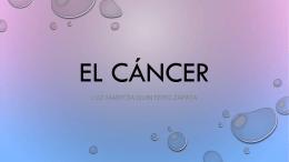 el cancer.
