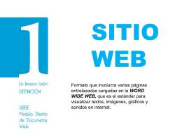 Diapositiva 1 - ArquitecturaWeb