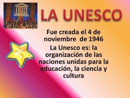La UNESCO - Aulas Amigas