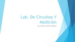 Lab. De Circuitos Y Medición