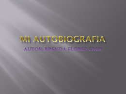 MI AUTOBIOGRAFIA