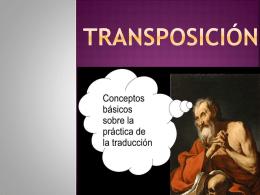Transposición