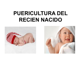 File - PUERICULTURA PARA EL RECIÉN NACIDO