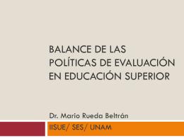 Presentación - Seminario de Educación Superior de la UNAM
