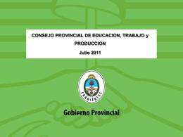 presentacion del COPETyP - Dirección de Educación Técnico