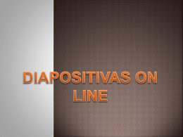 Como publicar diapositivas on line