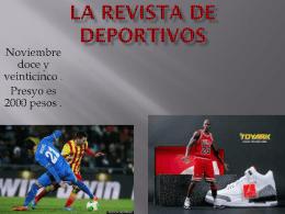 La Revista DE DEportivos