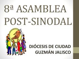 8ª ASAMBLEA POST-SINODAL