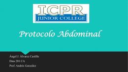 Protocolo Abdominal
