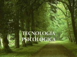 Tecnologia sicologica - Diapositivas