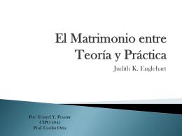 El Matrimonio entre Teoría y Práctica