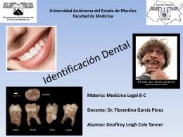 Identificación Dental - Carpe Diem – Cogito ergo sum