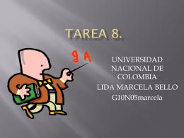 TaREA 8.