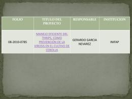 Presentación4 - Fundación Produce Chihuahua