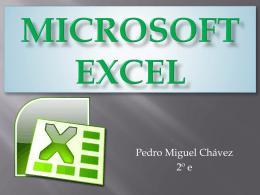 Microsoft Excel.